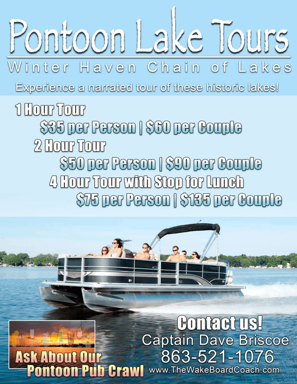 Pontoon Lake Tours